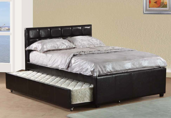 Full Tufted Daybed in Black by Furniture World
