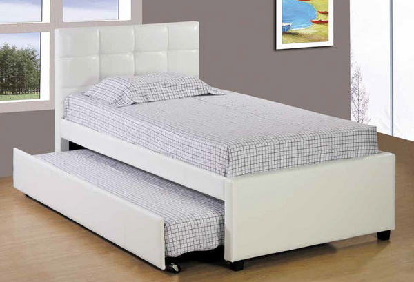 Twin Tufted Daybed in White by Furniture World