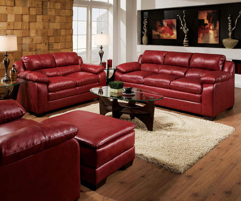 Acme Furniture Jeremy Red Stationary Living Room Group