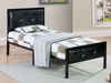 Padded PU Kids Platform Bed by Furniture World