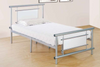 Pink Padded Platform Bed by Furniture World