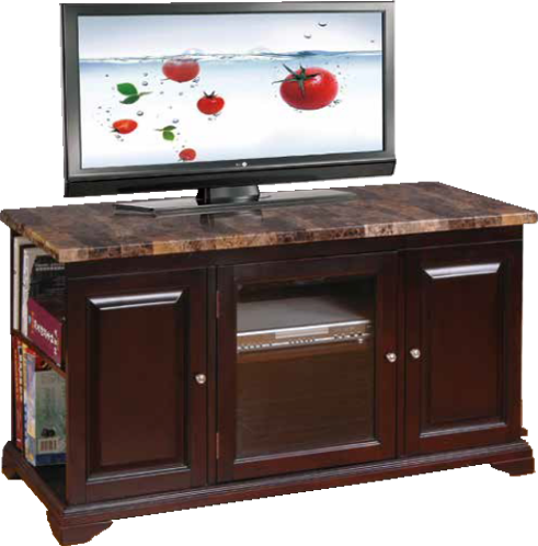 Faux Marble 48'' TV Stand by Furniture World