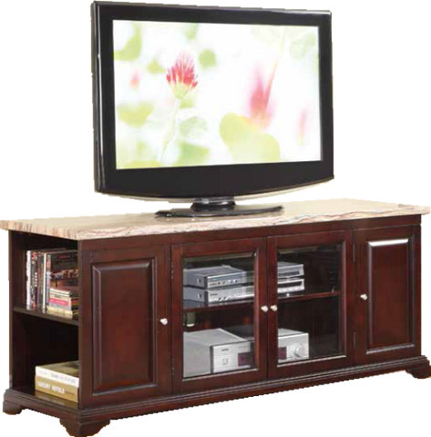 62'' Faux Marble TV Stand by Furniture World