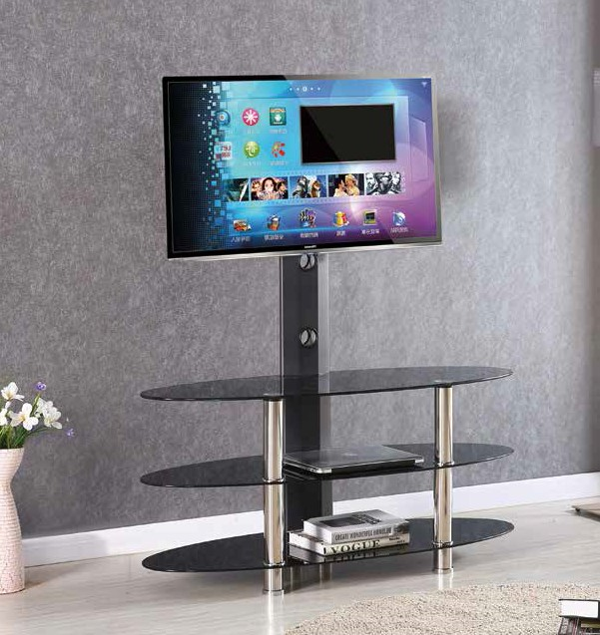 Black Chrome 43 Tv Stand By Furniture World Price Match Furniture