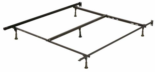 T/F/Q Metal Bed Frame with Center Support