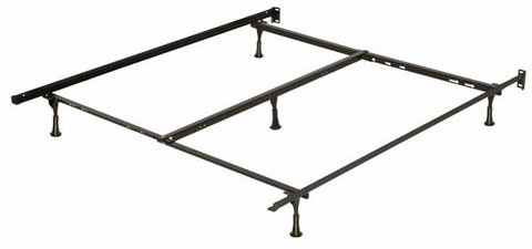 T F Q Metal Bed Frame With Center Support on sofa bed twin sleeper