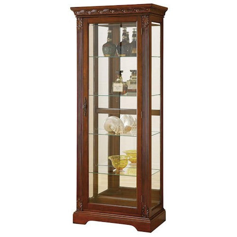 Acme Furniture Addy Cherry Finish Curio Cabinet