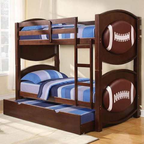 Acme Furniture All Star Sports Themed Soccer Bunkbed Décor