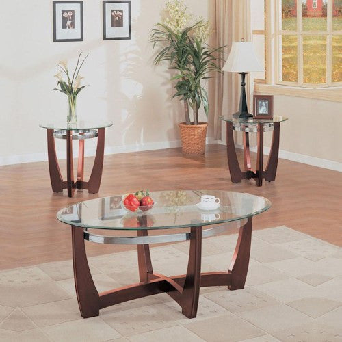 Acme Furniture Baldwin Three Piece Occasional Table Set
