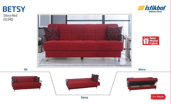 Betsy Story Red by Sunset Furniture