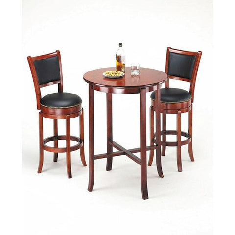 Acme Furniture Chelsea Transitional Oak Bar Table