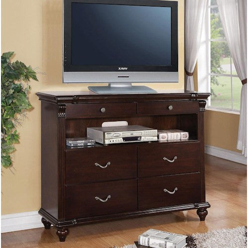 Acme Furniture Cleveland Tv Console with 6 Drawers