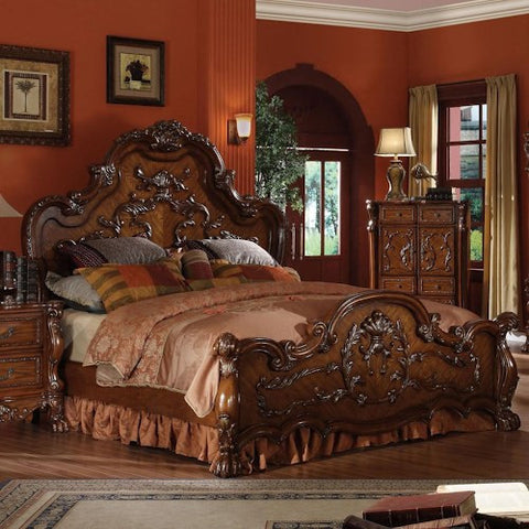 Acme Furniture Dresden Queen Carved Bed