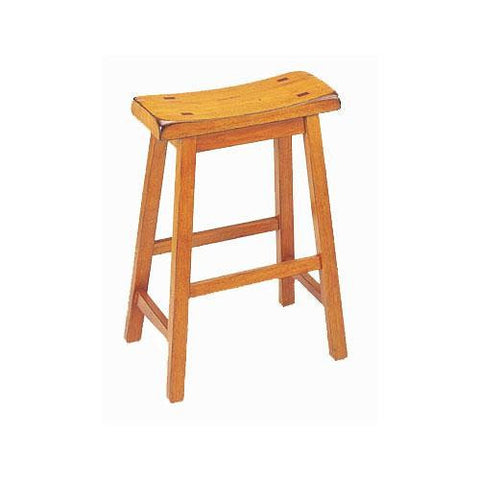 "Acme Furniture Gaucho 24"" Saddle Stool"