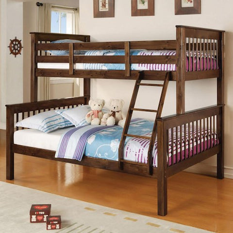 Acme Furniture Haley Twin over Full Mission Bunkbed