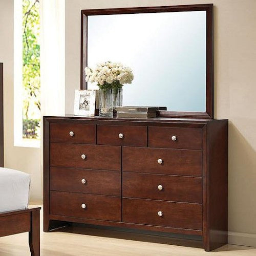 Acme Furniture Ilana 9 Drawer Dresser with Mirror