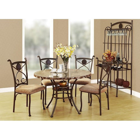 Acme Furniture Kleef Casual 5-Piece Dining Set