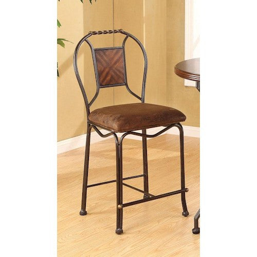 Acme Furniture Tavio Traditional Counter Height Chair