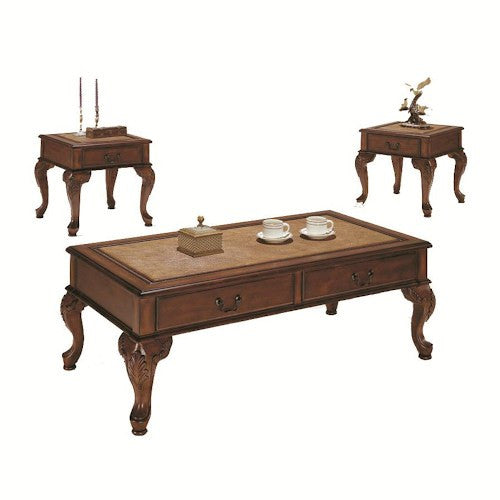 Acme Furniture Trudeau Three Piece Occasional Table Set