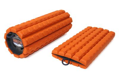 Morph Collapsible Foam Roller, travel foam roller, folding foam roller, foldable foam roller, collapsible foam roller accessories, foam roller sleeve, foam roller skin, foldable foam roller, gym roller, massage roller, mobility tool, portable foam roller, Brazen foam roller, The Morph, Morph foam roller, Brazyn foam roller - Brazyn Life