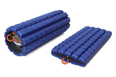 The Morph Collapsible Foam Roller (Alpha), travel foam roller, folding foam roller, foldable foam roller, collapsible foam roller accessories, foam roller sleeve, foam roller skin, foldable foam roller, gym roller, massage roller, mobility tool, portable foam roller, Brazen foam roller, The Morph, Morph foam roller, Brazyn foam roller - Brazyn Life