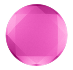 Metallic Diamond Fuchsia, PopSockets