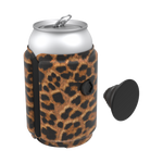 PopThirst Can Holder Leopard Prowl, PopSockets
