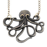 Vintage Octopus Necklace