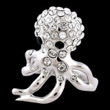Octopus Crystal Ring