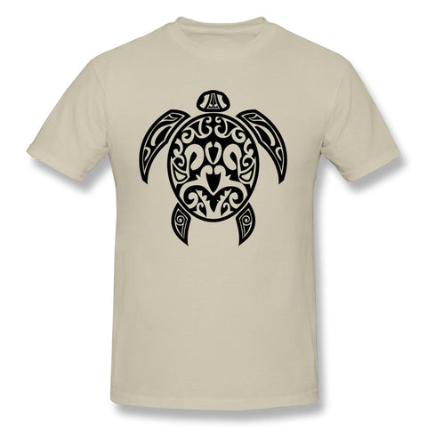 Tribal Sea Turtle Design Men's T Shirt