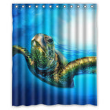 "Sea Turtle 60"" x 72"" Shower Curtain"