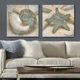 Starfish Shell Canvas Print