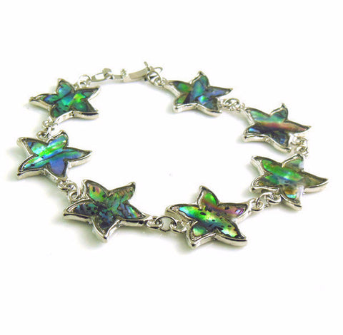 Natural Shell Starfish Bracelet