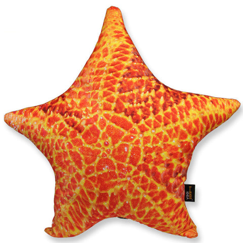 Starfish Shaped Throw Pillow