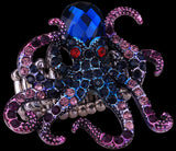 Octopus Crystal Stretch Ring