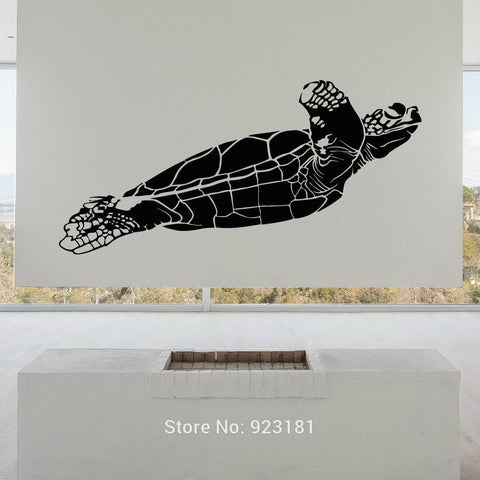 Sea Turtle Monoton Vinyl Wall Decal