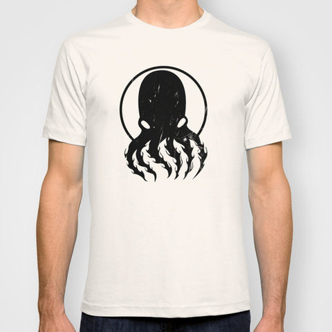 Dark Octopus Design T Shirt