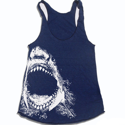 Women's Shark Attack Tank Top