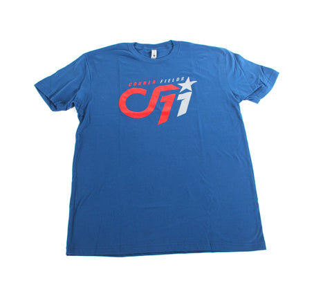 A 01a CF11 FanWear Tee - Blue Red/Grey