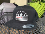 RIM Snapback Black Hat with NEW RIDER IN ME Logo