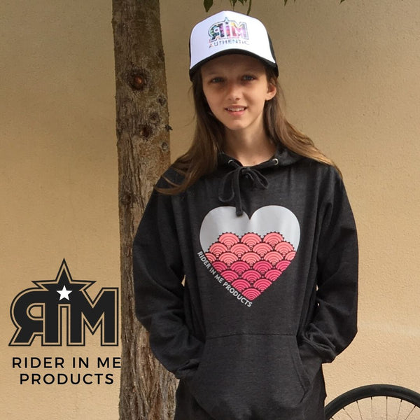 New RIM Heart Cog Hoodie Black/Multicolor