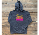 RIM BIKE LIFE hoodie Heather Grey/Multicolor