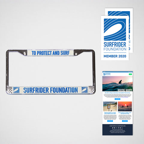 2019 Gift Membership #2 - License Plate Frame