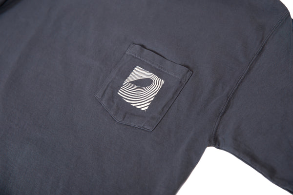 Classic Logo Pocket T-Shirt (Navy)