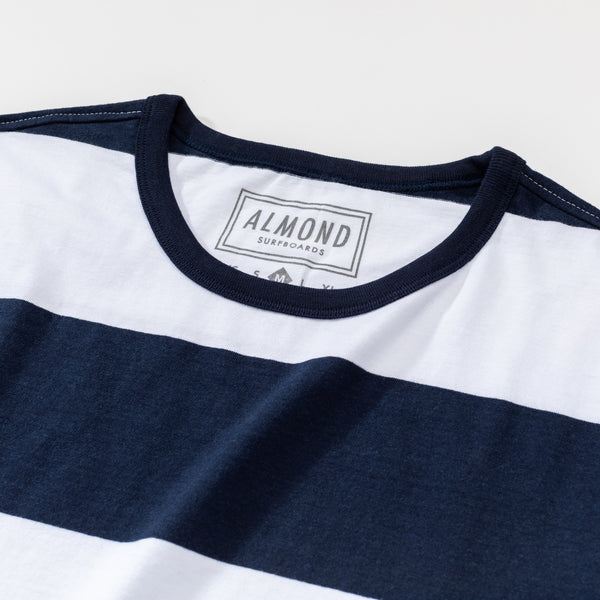 Almond x Surfrider Stripe T-Shirt