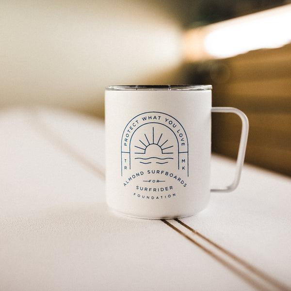 Almond x Surfrider PWYL Insulated Mug