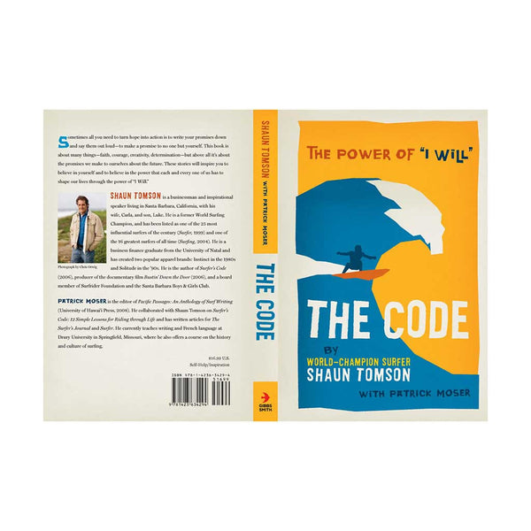 "The Code: The Power of ""I Will"" by Shaun Tomson (autographed)"