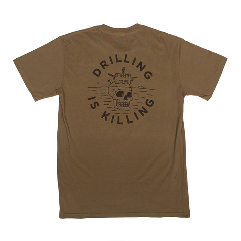 Limited Edition Army #DrillingIsKilling T-Shirt