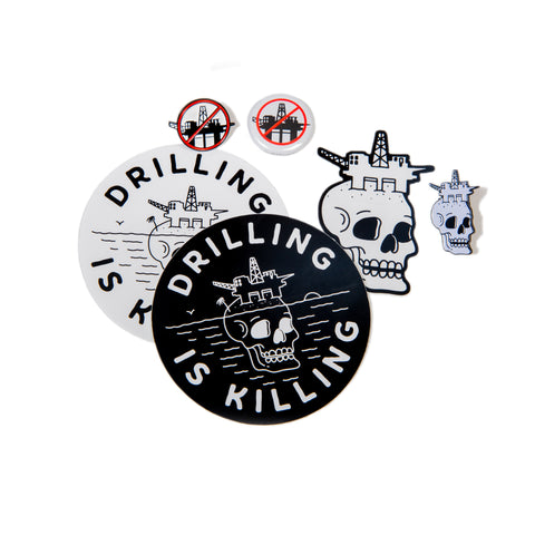 #DrillingIsKilling Accessory Collection