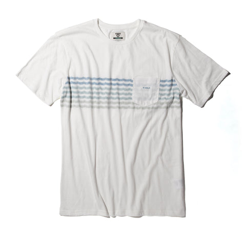 Surfrider Upcycled Knit Tee - White
